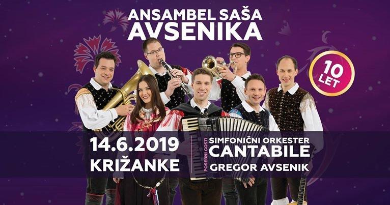 Ansambel SAŠA AVSENIKA s simfoniki CANTABILE